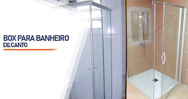 Box de Canto para Banheiro  Belo Horizonte