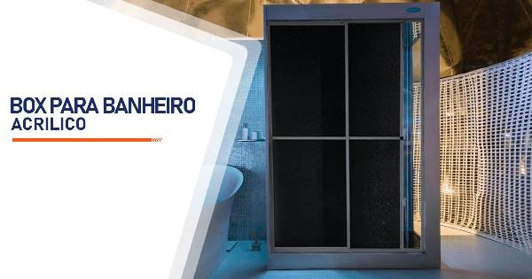 Box para Banheiro Acrílico Belo Horizonte