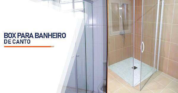 Box para Banheiro de Canto Belo Horizonte