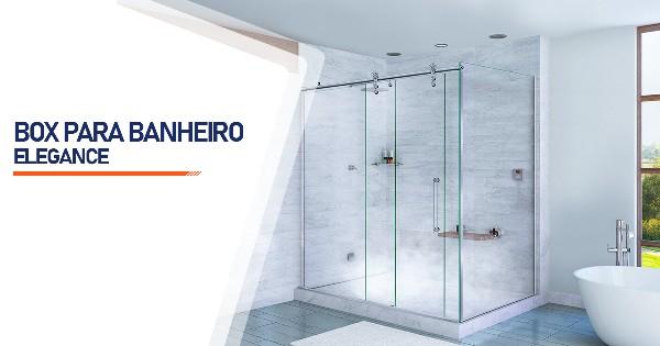 Box para Banheiro Elegance  Belo Horizonte