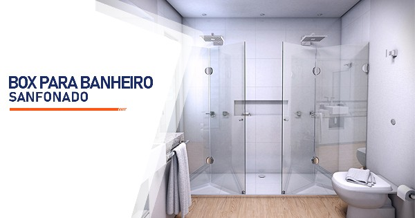 Box para Banheiro Sanfonado Belo Horizonte