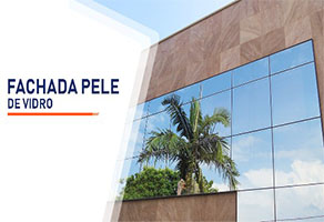 Fachada Pele de Vidro Belo Horizonte