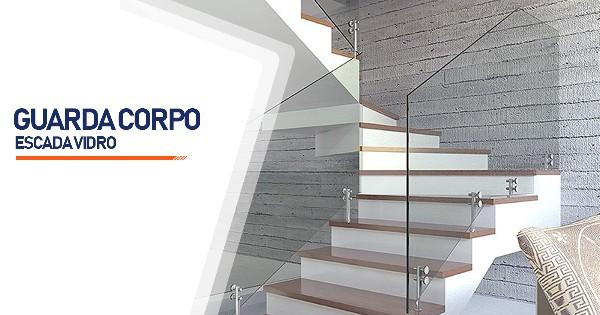 Guarda Corpo Escada Vidro  Belo Horizonte