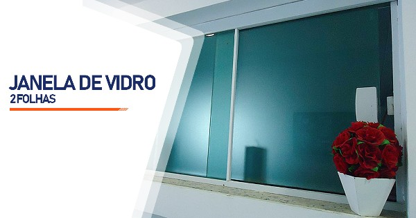 Janela De Vidro 2 Folhas Belo Horizonte