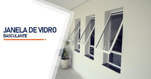 Janela De Vidro Basculante Belo Horizonte