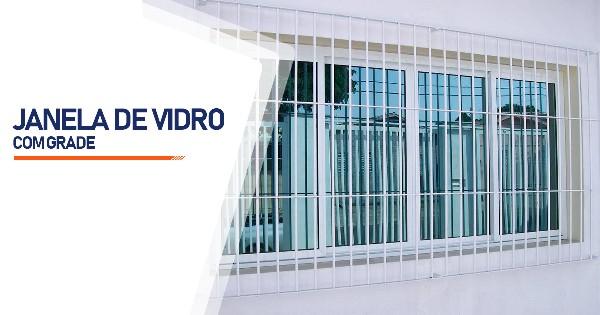 Janela De Vidro Com Grade Contagem