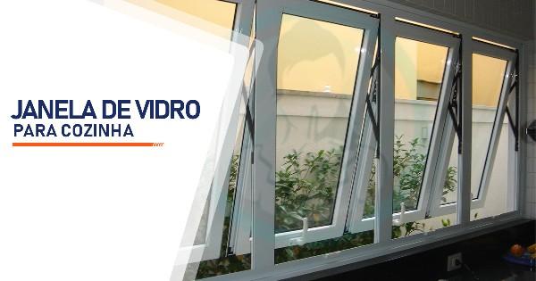 Janela de Vidro para Cozinha Belo Horizonte