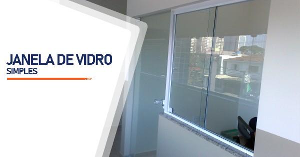 Janela De Vidro Simples Belo Horizonte