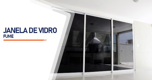 Janela Vidro Fume Belo Horizonte