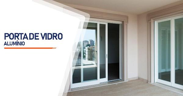 Porta De Vidro Aluminio Contagem
