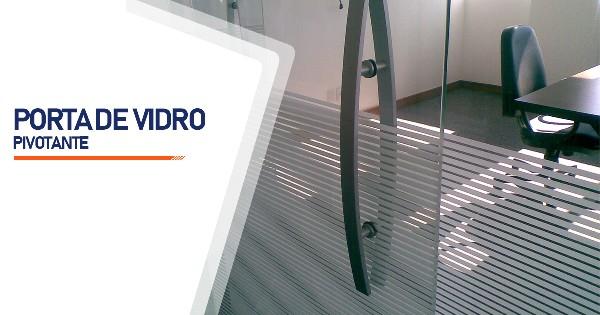 Porta Pivotante De Vidro Belo Horizonte