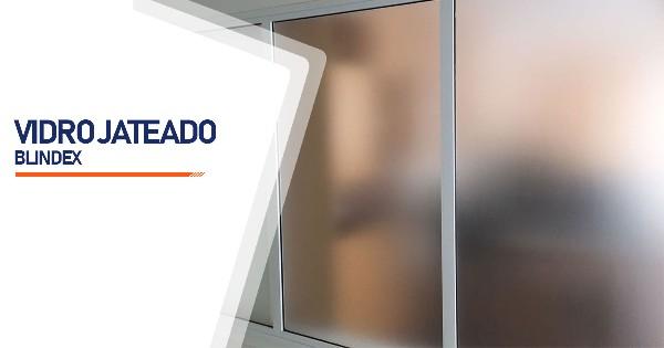 Vidro Blindex Jateado Contagem