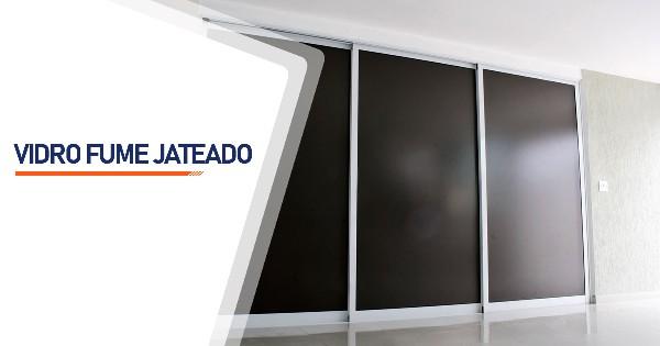 Vidro Fume Jateado Belo Horizonte