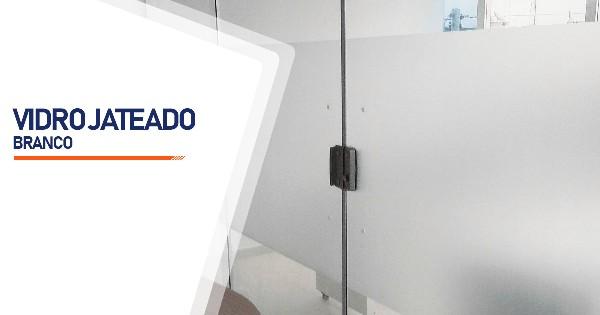 Vidro Jateado Branco Belo Horizonte